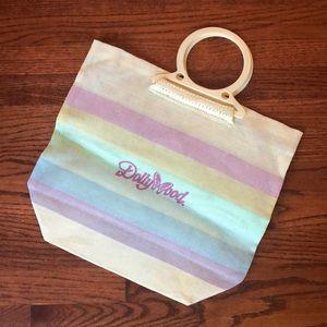 Handbags - ▪️rainbow dollywood tote▪️transparent mesh